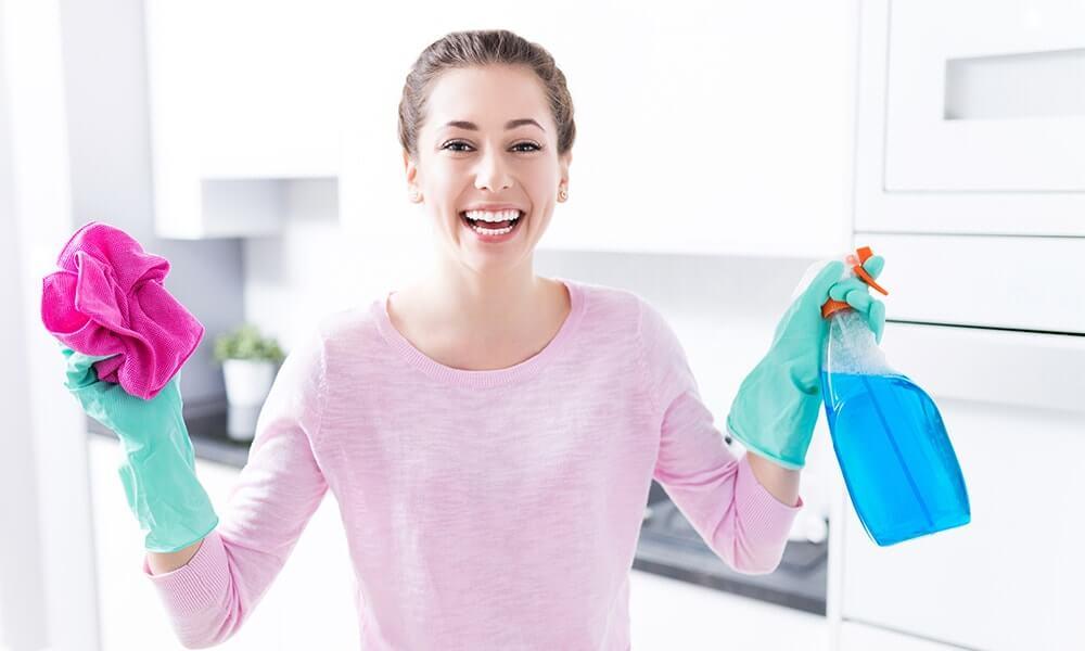 Nettoyage avec les produits écologiques