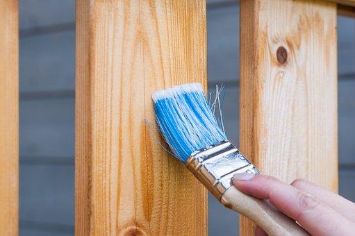 Peinture du bois